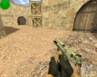 Engraved Desert Eagle (Серебренный) для Counter-Strike 1.6 вид сбоку