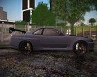 Nissan Skyline GT-R ESR для GTA San Andreas вид изнутри