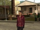 Mona Sax red jacket from Max Payne for GTA San Andreas left view
