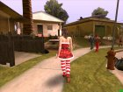 Mrs Clause Quiet (Metal Gear Solid V) for GTA San Andreas left view