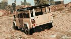 Land Rover Defender 110 (with Extras) для GTA 5 вид сзади слева