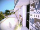 Узи из San Andreas for GTA Vice City left view