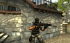 USAS 12 Reborn V1.0 for Counter-Strike Source top view