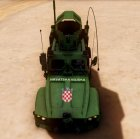 Oshkosm M-ATV Croatian Armoured Vehicle for GTA San Andreas right view