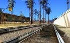 Новые рельсы for GTA San Andreas rear-left view
