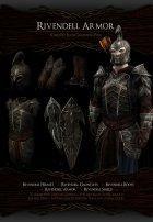 Noldor Content Pack - Нолдорское снаряжение 1.02 для TES V Skyrim вид изнутри