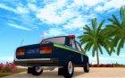 ВАЗ-2107 Державтоінспекція для GTA San Andreas вид сверху