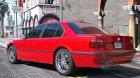 BMW 740i E38 Shadow Line 1.0 для GTA 5 вид сбоку