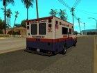 MRSA Ambulance из GTA V for GTA San Andreas left view