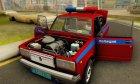 ВАЗ 2107 Полиция для GTA San Andreas вид справа
