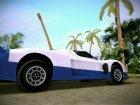 Maserati MC12 для GTA Vice City вид сверху