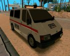 Ford Transit Security for GTA San Andreas rear-left view