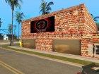 Venum Gym для GTA San Andreas вид слева