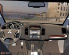 Mitsubishi Pajero IV 2009 для Mafia: The City of Lost Heaven вид изнутри