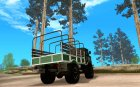 ГАЗ 66 Парадный для GTA San Andreas вид сверху