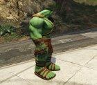 Gladiator Hulk (Planet Hulk) 2.1 for GTA 5 side view