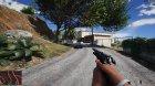 Beretta M9 (Black) для GTA 5 вид сверху