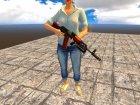AK-74 GP-25 для GTA San Andreas вид изнутри