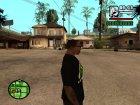 Футболка Let 4 Dead 2 для GTA San Andreas вид слева