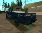 Ford F-250 Incident Response для GTA San Andreas вид изнутри