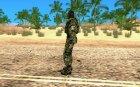 СПЕЦНАЗ из Сталкер Тени Чернобыля OGSE для GTA San Andreas вид слева