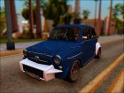 Fiat Abarth 1000TC Rally для GTA San Andreas вид слева