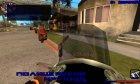 Зимний hud 3.0 для GTA San Andreas вид сзади слева