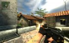 Metal Stock AK для Counter-Strike Source вид слева