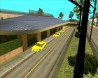 Припаркованный транспорт v2.0 для GTA San Andreas вид сверху