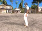 Skin HD GTA V Online 2015 в маске кота для GTA San Andreas вид сбоку