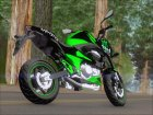 Kawasaki Z800 Monster Energy for GTA San Andreas right view