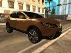 Nissan Qashqai 2016 для GTA San Andreas вид изнутри