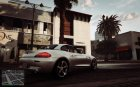 BMW Z4 2013 for GTA 5 top view