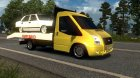 Ford Transit 2010 for Euro Truck Simulator 2 rear-left view