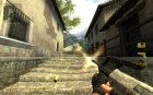 desert camo steyr aug for Counter-Strike Source left view