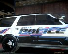 Ford Expedition 2010 Delta Police [ELS] for GTA 4 inside view