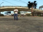 Фиолетовый Desert Eagle for GTA San Andreas top view
