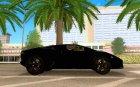 Lamborghini Reventon v2 для GTA San Andreas вид изнутри