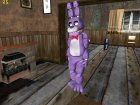 Bonnie из Five Nights Att Freddy's для GTA San Andreas вид слева