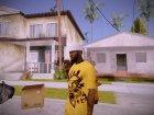 Random Black Dude для GTA San Andreas вид сзади слева