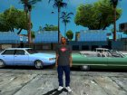 HD CJ Dark T-Shirt 2016 для GTA San Andreas