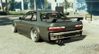 1989 Nissan 240SX S13 OneVia for GTA 5 rear-left view