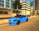 Maibatsu Penubra Tunable GTA V HQLM for GTA San Andreas rear-left view