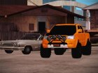 Toyota Hilux 2010 Off-Road Swag edition для GTA San Andreas вид сбоку