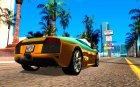 Lamborghini Murcielago LP640 для GTA San Andreas вид сверху