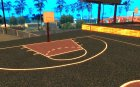 Новая баскетбольная площадка для GTA San Andreas вид слева