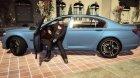 BMW 750Li F01 Original for GTA 5 rear-left view
