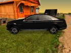 Mercedes-Benz Long S65 W222 Black loaf для GTA San Andreas вид слева