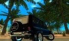 УАЗ-31512 Тюнинг для GTA San Andreas вид сзади слева