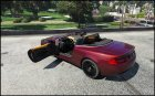 Aston Martin DB9 Volante 1.3 for GTA 5 side view